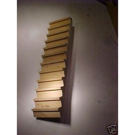 stairs steps dollhouse trim fits playscale assembled fits