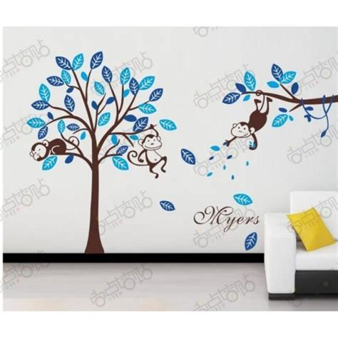sticker arbre chambre bébé beautiful stickers turquoise chambre bebe contemporary