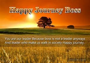 Happy Journey Sms to Boss - Journey Wishes