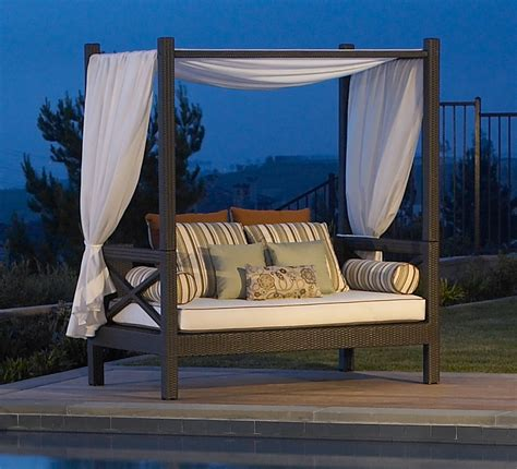 outdoor daybed with canopy barefoot and beautiful daybed delights