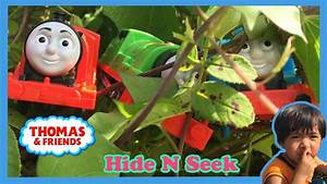 Ryan plays with Thomas and Friends Hide and Seek at the ...