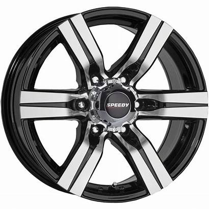 Speedy Assault Piped Wheel Wheels 16x8 Tyre