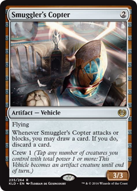 Mtg Deck Draw Simulator by Mtg Smuggler S Copter From Kaladesh Set By Florian De