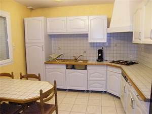 repeindre un meuble en chene massif perfect vaisselier With peindre armoire de cuisine en chene