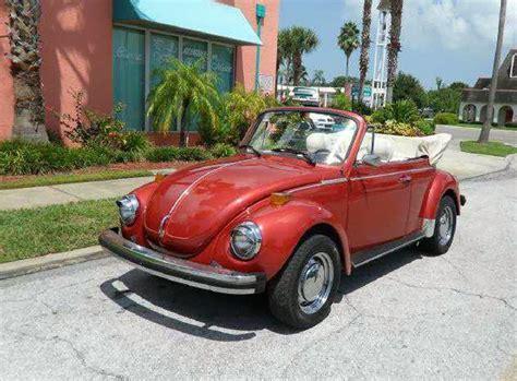 Vw Beetle Kaufen by 1978 Vw Beetle Convertible Buy Classic Volks