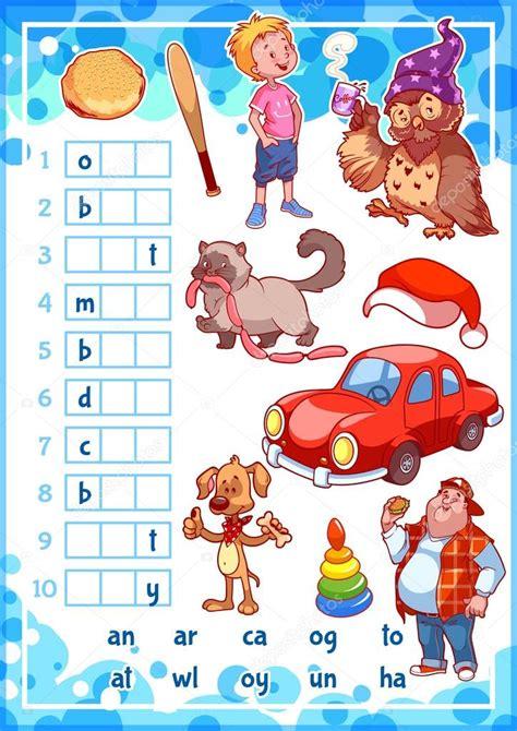 Jul 27, 2020 · evaluación del espacio de juego para el preescolar. Fotos: juegos para niños   Rebus educación juego para niños de preescolar — Vector de stock ...