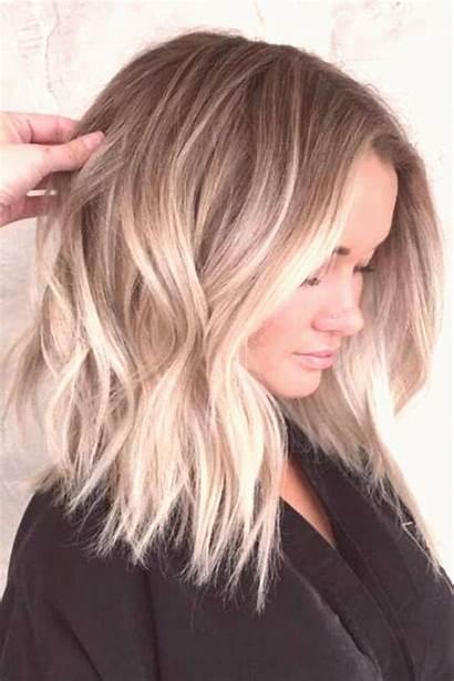 Bob Haircuts Blonde Balayage Ombre Length Ie