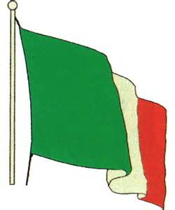Waving Italian Flag