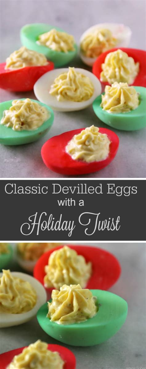 pinterest christmas recipes for snacks classic devilled eggs recipe with a twist sober julie
