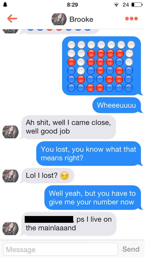This Dude Get Girl S Phone Numbers On Tinder By Playing Connect Four