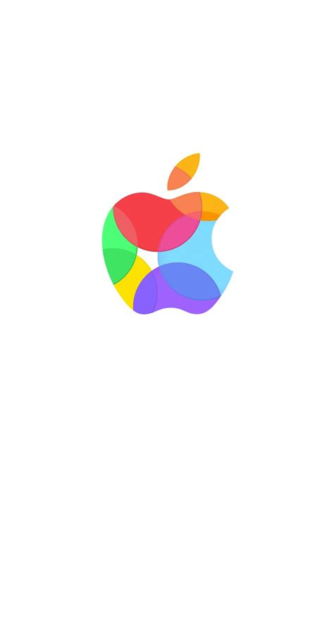 Apple Logo Wallpaper Iphone 11 Pro by Apple Logo Colorful White Wallpaper Sc Iphone6s