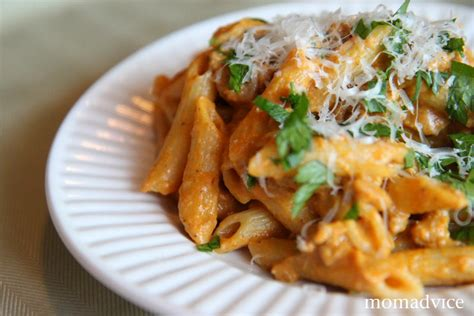 pumpkin meals creamy pumpkin pasta momadvice