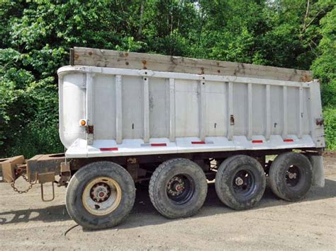 size box springs 1978 fruehauf gravel pup trailer