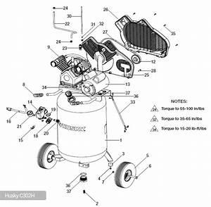 Parts Husky Air Compressor