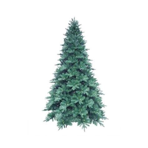 martha stewart pre lit christmas tree replacement kit 12 ft blue noble spruce artificial tree with 1260 clear led lights 7208008 51 the