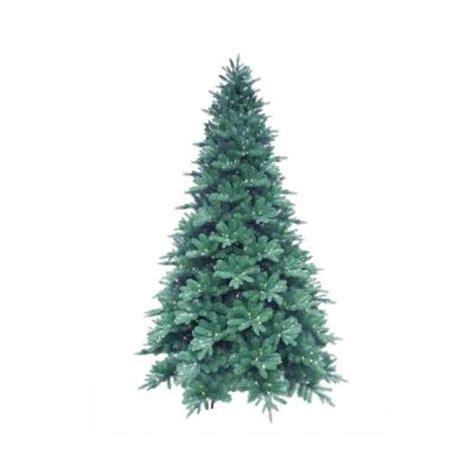 martha stewart living 15 ft pre lit led blue noble spruce