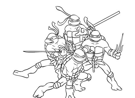ninja turtles coloring pages  animated cartoons    years   print