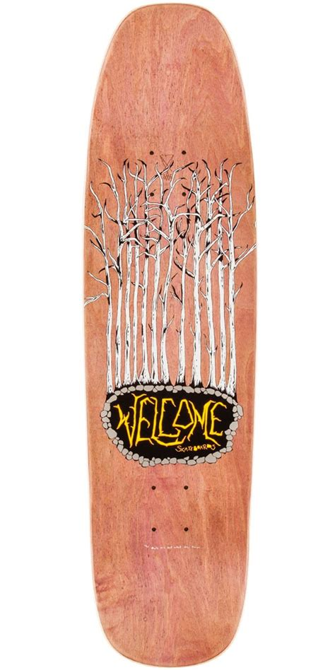 Best 75 Skateboard Decks by Welcome No Strange Delight On Nimbus 5000 Skateboard Deck