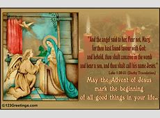 The Advent Of Jesus Free Advent eCards, Greeting Cards