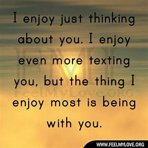 Im Thinking About You Quotes. QuotesGram