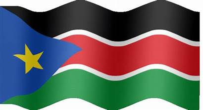Sudan South Flag Animated Flags Leadership Very