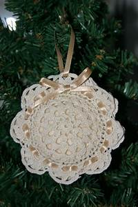 DIY Doily Crafts For Christmas Decorating
