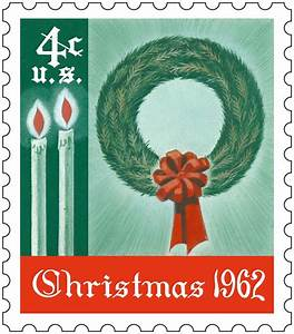 the first us christmas stamp was issued in 1962 and With christmas letter stamp