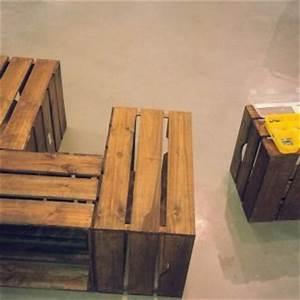 Table Basse Caisse Bois : une table basse en caisse en bois blog z dio ~ Nature-et-papiers.com Idées de Décoration
