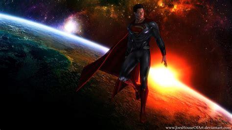 Superman Man Of Steel Background - WallpaperSafari