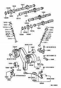 2000 Toyota 4runner Engine Timing Camshaft Sprocket