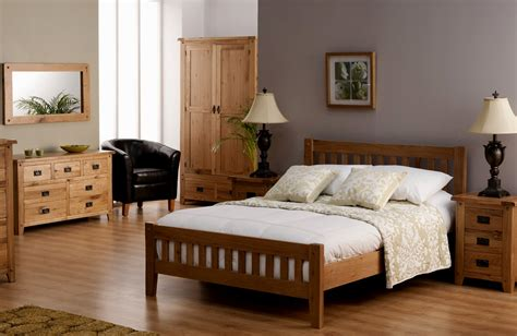 bedroom colour schemes with oak furniture color interior
