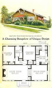 small bungalow floor plans 1918 gordon tine no 580 craftsman style bungalow