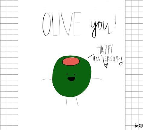 olive  happy anniversary  happy anniversary
