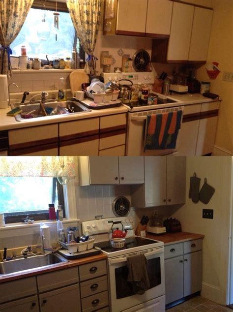 Diy Painting Laminate Kitchen Cabinets