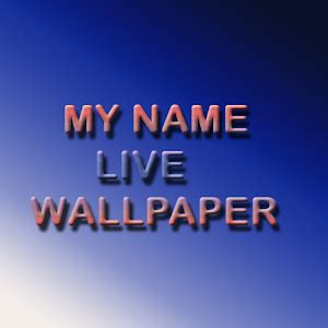 name live wallpaper apps my name live wallpaper apk to pc