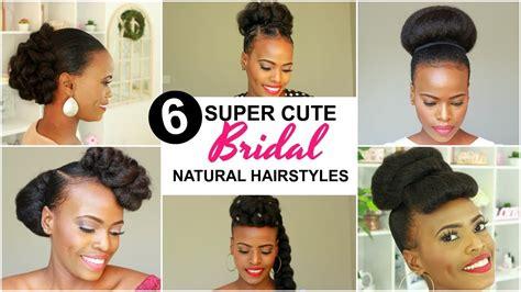 bridal natural hairstyles  black women youtube
