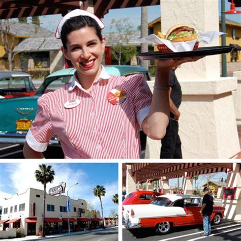 grand opening  carhop burger  rubys diner  anaheim