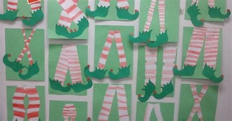 xmas craft 2nd grade these where made by my 2nd grade class an idea i came up with inspired by a card