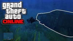 GTA 5 Online - Awesome Underwater Airplane Crash Site ...