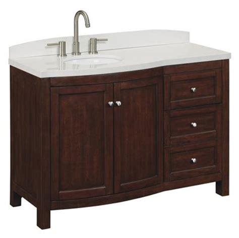 allen roth vanity cabinets allen roth moravia sable undermount bathroom vanity with