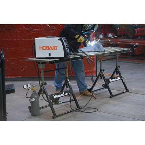 strong hand tools welding table sale strong hand tools nomad expanded welding table model