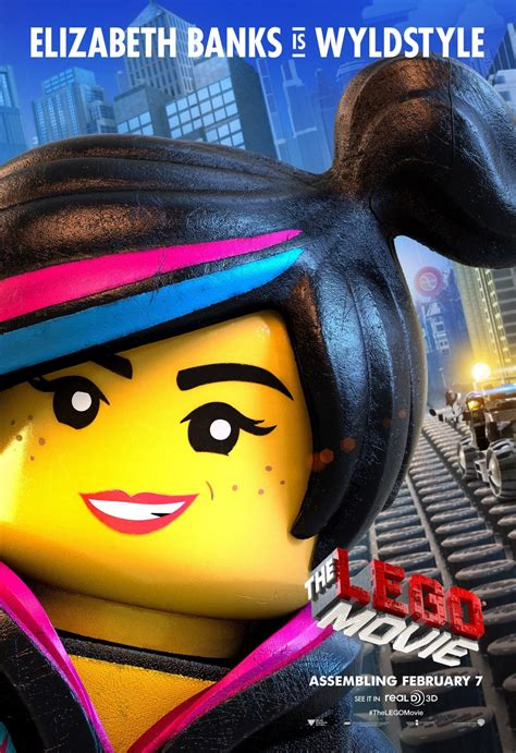 The Lego Movie Character Posters Emmet Wyldstyle And
