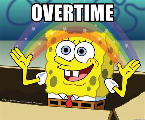 Spongebob Meme Generator - overtime spongebob rainbow meme generator