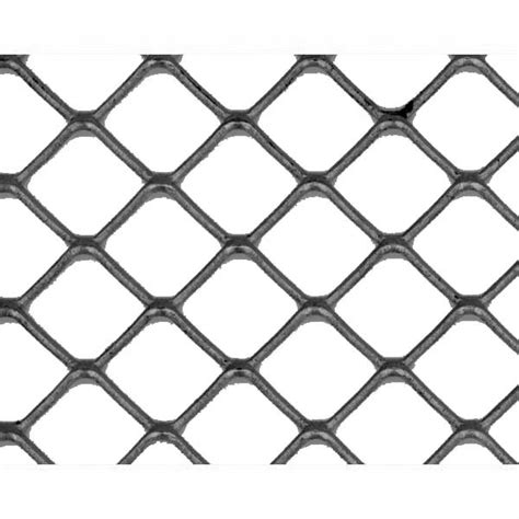 London Garden Fencing by Expanded Mild Steel 1601f 1250 X 1250mm Flattened Square