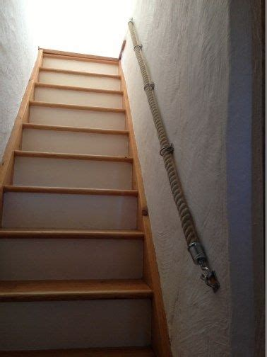 Chrome Banister Rails by 24mm Hemp Rope Stairs Banister Handrail With
