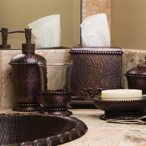 GG Collection Antique Copper Hammered Soap Dispenser