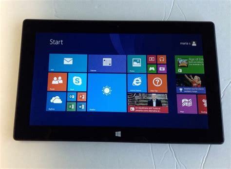 microsoft surface rt  black  gb wi fi tablet