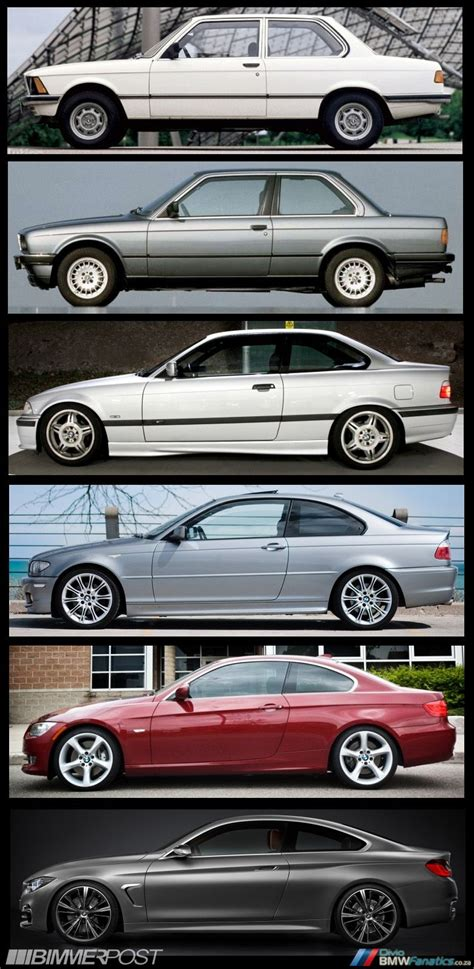 Bmw 3 Series Evolution by Evolution Of The Bmw 3 Series Coupe To 4 Series Coupe E21