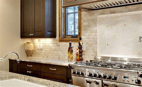 ivory subway tile backsplash travistene back splash completed kitchens ivory polished bevel edge subway travertine tile