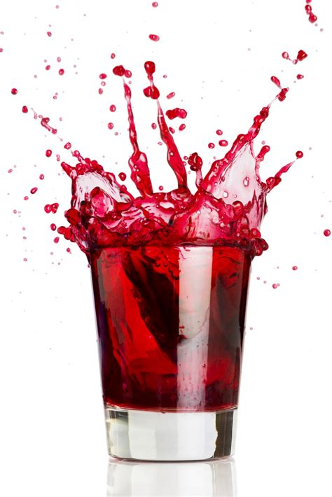 red martini blood shot drink of the week